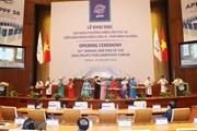 Hội nghị APPF-26 tại Hà Nội bước vào ngày làm việc đầu tiên