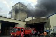 Cháy kho hàng của công ty sản xuất thức ăn chăn nuôi ở Hải Dương