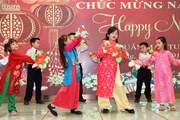 Đầm ấm Tết cổ truyền của cộng đồng người Việt tại Hong Kong