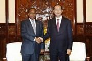 Chủ tịch nước tiếp Đại sứ Mozambique chào kết thúc nhiệm kỳ