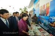 Chủ tịch Quốc hội Nguyễn Thị Kim Ngân thăm Hội Báo toàn quốc 2018