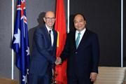 Thủ tướng Nguyễn Xuân Phúc tiếp lãnh đạo một số doanh nghiệp Australia