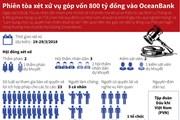 [Infographics] Phiên tòa xét xử vụ góp vốn 800 tỷ đồng vào OceanBank