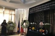 Lễ viếng đồng chí Phan Văn Khải tại Trung Quốc, Malaysia và Myanmar