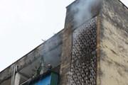 Nghệ An: Cháy ở chung cư cũ có nhiều hộ dân sinh sống