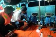 Bắt quả tang nhiều tàu cá mua bán dầu trái phép trên biển Cà Mau