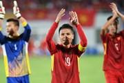 Cầu thủ U23 Quang Hải làm đại diện cho Giải bóng đá Cup Quốc gia