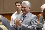 Lãnh đạo nhiều nước trên thế giới chúc mừng tân Chủ tịch Cuba