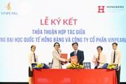 Trường Hồng Bàng khánh thành Khu thực hành du lịch chuẩn quốc tế