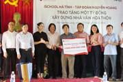 Tập đoàn Nguyễn Hoàng tặng 1 tỷ đồng xây dựng nhà văn hóa thôn