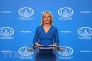 Nga phản đối lệnh trừng phạt đơn phương của Mỹ nhằm vào Iran