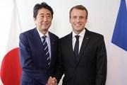 Lãnh đạo Nhật Bản và Pháp thảo luận về vấn đề Triều Tiên, Iran