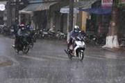 Cập nhật thông tin về các tuyến phố ở Hà Nội bị ngập do mưa lớn