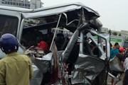 Tai nạn trên cao tốc Hà Nội-Bắc Giang, gần 10 người thương vong