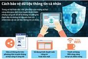 [Infographics] Những cách bảo vệ dữ liệu thông tin cá nhân