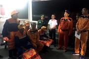 Nghệ An: Kịp thời cứu nạn tàu cá cùng 7 ngư dân bị nạn trên biển