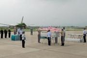 Tổ chức lễ hồi hương hài cốt quân nhân Hoa Kỳ tại sân bay Đà Nẵng