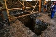 Mexico phát hiện dấu tích của một ngôi đền cổ thờ thần mưa