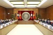 Quốc hội Việt Nam luôn coi trọng quan hệ với Quốc hội Lào