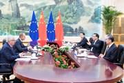 """[Mega Story] Quan hệ Trung Quốc-EU: """"Đồng sàng, dị mộng"""""""