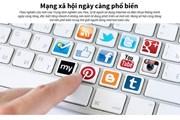 [Infographics] Điện thoại thông minh và mạng xã hội ngày càng phổ biến