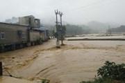 Mưa lũ gây sạt lở, ách tắc một số tuyến đường ở tỉnh Sơn La