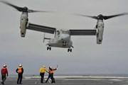 Nhật Bản khẳng định triển khai máy bay vận tải Osprey vẫn an toàn