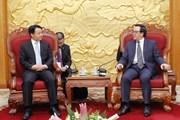 Trung ương Đoàn Thanh niên Việt Nam-Trung Quốc tăng cường hợp tác