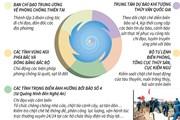 [Infographics] Chủ động triển khai biện pháp ứng phó với bão số 4