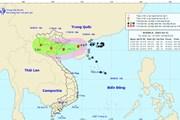 Bão số 4 giật cấp 11 đi vào Vịnh Bắc Bộ, cảnh báo sẽ có mưa rất to