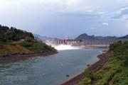 Đóng 1 cửa xả đáy hồ Thủy điện Tuyên Quang vào 15 giờ hôm nay