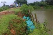 Ảnh hưởng hoàn lưu bão số 4, vùng núi Thanh Hóa-Nghệ An có mưa to