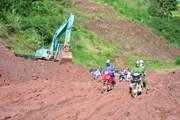 Đề phòng sạt lở đất khi lũ ở hạ lưu sông Thương, sông Cả đang lên