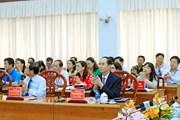 Chủ tịch nước Trần Đại Quang dự hội thảo về đồng chí Tôn Đức Thắng