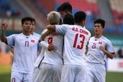 Những hình ảnh ấn tượng trong trận Olympic Việt Nam đánh bại Nhật Bản