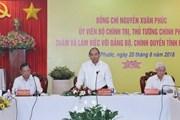 Thủ tướng: Bình Phước cần tập trung phát triển kinh tế tư nhân