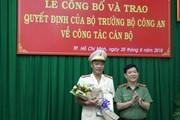 Đại tá Cao Đăng Hưng giữ chức Phó Giám đốc Công an TP Hồ Chí Minh