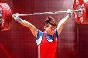Lực sỹ Trịnh Văn Vinh giãn dây chằng vẫn giành huy chương bạc cử tạ