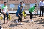 Quỹ 1 triệu cây xanh mang niềm vui đến với điểm cực Nam của Tổ quốc
