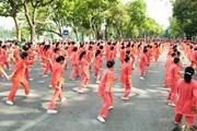 Màn trình diễn ra mắt hoành tráng của Hội sức khỏe ngoài trời Hà Nội