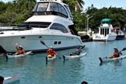 4 vận động viên Mỹ vượt biển Florida từ La Habana bằng thuyền kayak