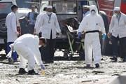 Nổ bom tại chợ bán điện thoại di động, hàng chục người thương vong