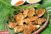 Mực tươi nướng sả ớt - món ăn đặc trưng của ngư dân miền Trung