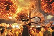 Ấn tượng với vũ điệu Rồng lửa đêm trung thu của người dân Hong Kong