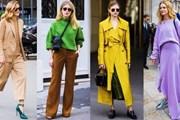 Tám xu hướng street style khuynh đảo tuần lễ thời trang Paris