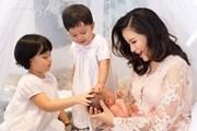 MC Minh Trang: ''Tôi thấy mình viên mãn trong sự lộn xộn của lũ trẻ''