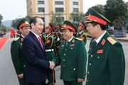 [Video] Chủ tịch nước Trần Đại Quang thăm và làm việc với Quân khu I