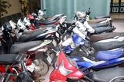 Cảnh sát bắt giữ đối tượng trộm cắp xe máy nhờ tín hiệu định vị