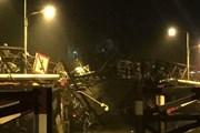 TP Hồ Chí Minh: Sập cầu Long Kiểng, nhiều phương tiện rơi sông