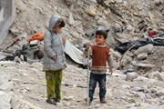 Nga và giới chức Syria dựng khu tạm trú cho người tị nạn tại Aleppo